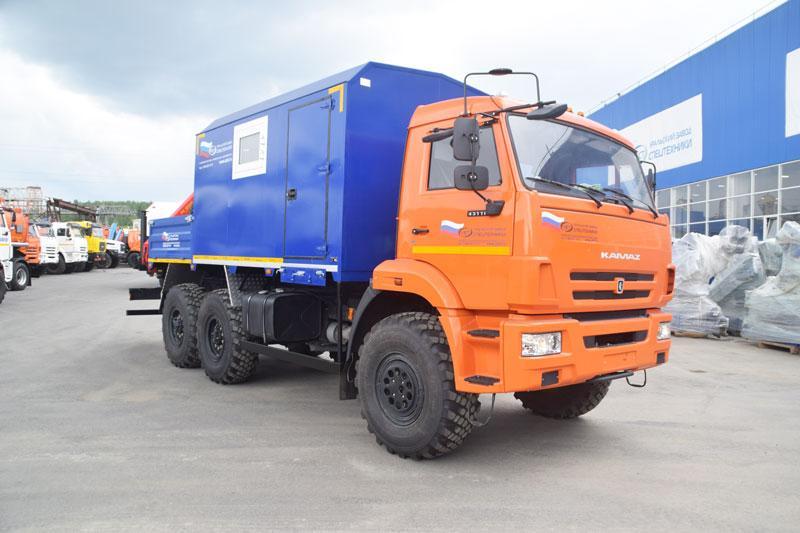 ПАРМ Камаз 43118-3027-50 с КМУ Palfinger PK 8500 (013)