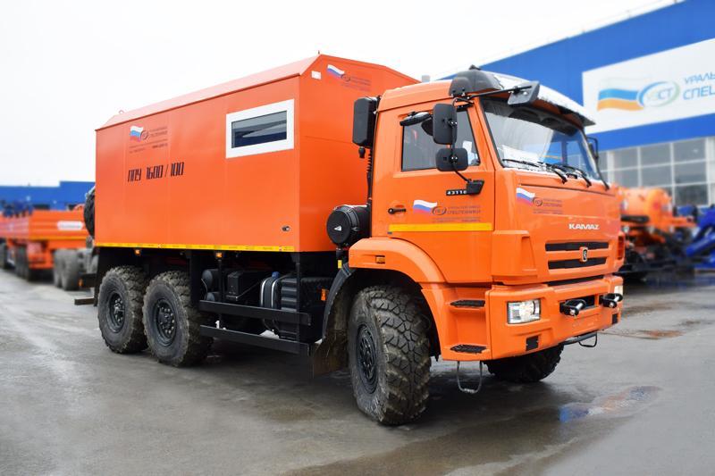 ППУА 1600/100 Камаз 43118-3011-50 (002, насос Kopper Pump PL-60)
