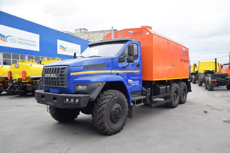 ППУА 1600/100 Урал-NEXT 4320-6951-74Е5 (04, насос 1,1ПТ)