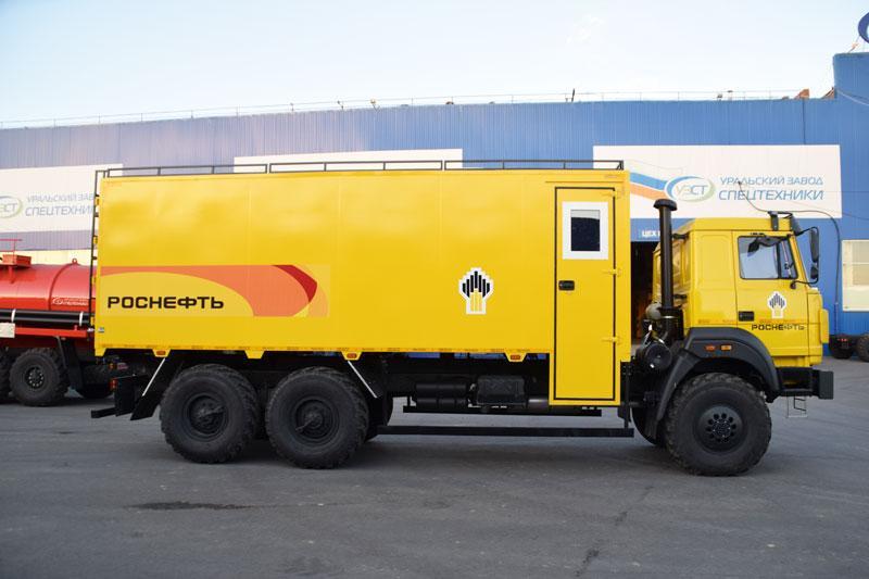 ГПА Урал 4320-4952-82Е5 (006)