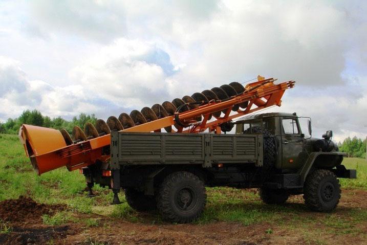 Бурильно-шнековая машина МБШ-509