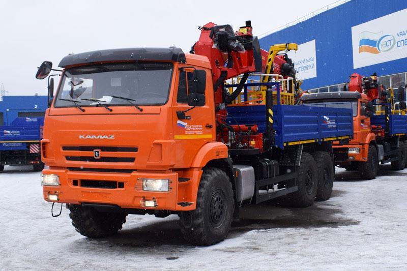 Бортовой Камаз 43118-3027-50 с КМУ ИТ-180