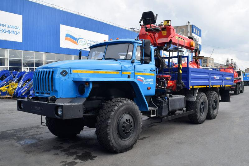 Бортовой Урал 4320-1912-60Е5 с КМУ ИТ-200