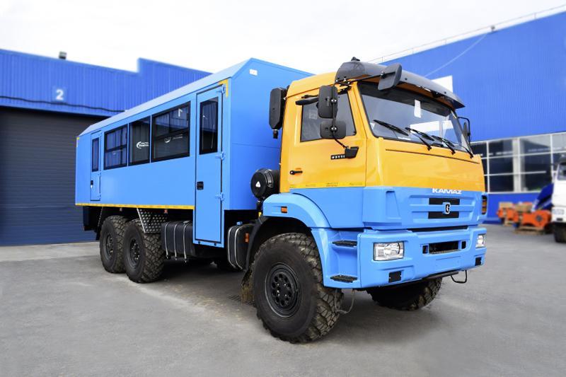 Вахтовый автобус Камаз 43118-3017-50 (001) – 20+2 места (с кухонным отсеком)
