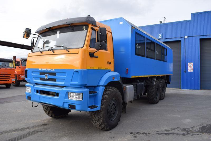 Вахтовый автобус Камаз 43118-3027-50 – 20+2 места (с кухонным отсеком)