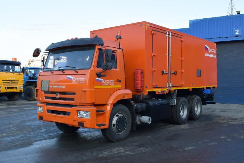 Автомобиль для перевозки взрывчатых веществ Камаз 65115-3082-48(А5) (005)