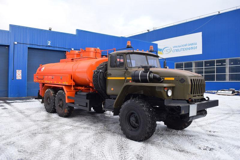 АТЗ-10 Урал 4320-1812-30 (ФСБ, 009, 2 секции, СВН-80)