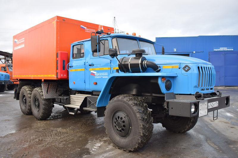 Автомобиль для перевозки взрывчатых веществ Урал 4320-1982-60Е5 (С-001)