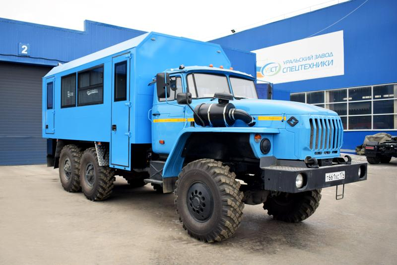 Вахтовый автобус Урал 4320-1112-61Е5 (001)
