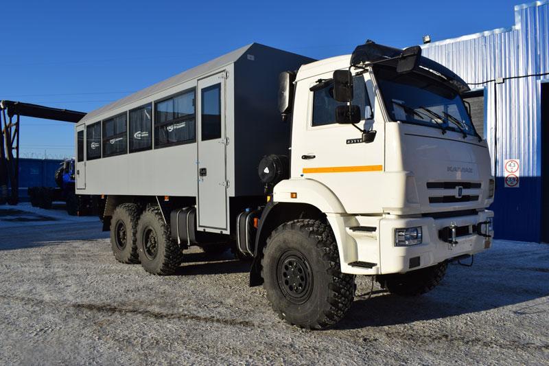 Вахтовый автобус Камаз 43118-3027-50 (002) – 28 мест