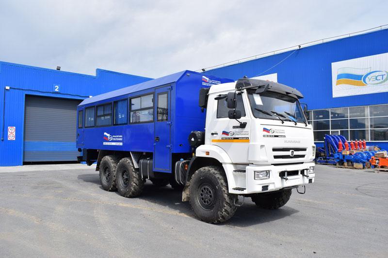 Вахтовый автобус Камаз 43118-3027-50 (002) – 28+2 места