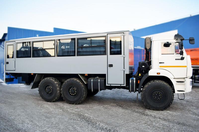 Вахтовый автобус Камаз 43118-3017-50 (004) – 28+2 места