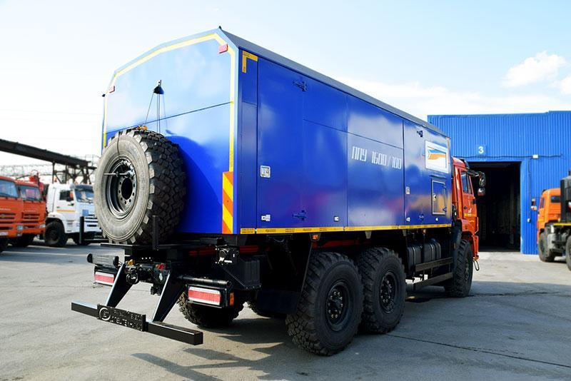 ППУА 1600/100 Камаз 43118-3017-50 (насос Kopper Pump PL-60)