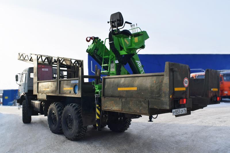 Агрегат ремонта промысловых трубопроводов АРПТ Камаз 43118 с КМУ АНТ 12-3