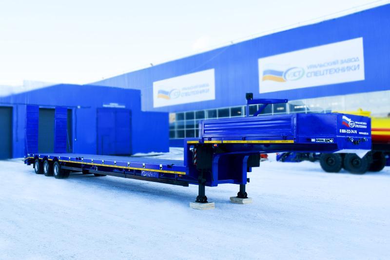 Полуприцеп-контейнеровоз марки УЗСТ 9177-011Н3 (40 т.)
