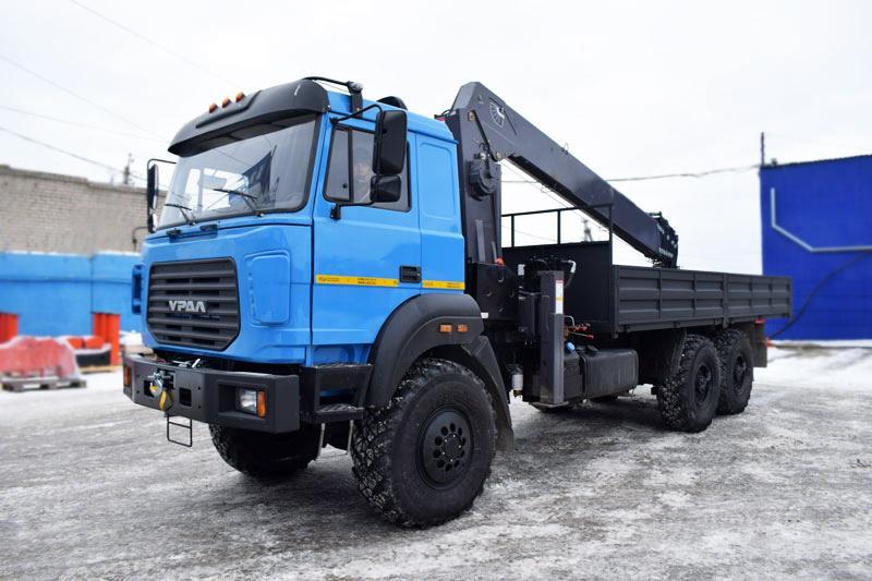 Бортовой Урал 4320-4951-82Е5 с КМУ Horyong HRS217