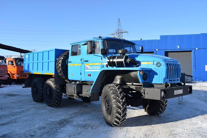 Бортовой Урал 4320-1112-61Е5 (сдвоенная кабина)