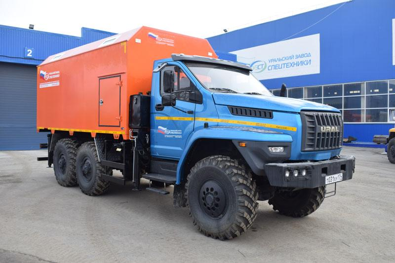 Фургон общего назначения Урал-NEXT 5557-6152-72Е5Г38 (008)