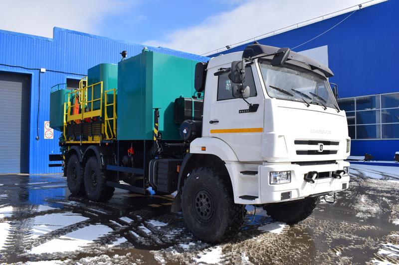 Цементировочно-смесительный агрегат на шасси Камаз 43118-3027-50 (011-10)