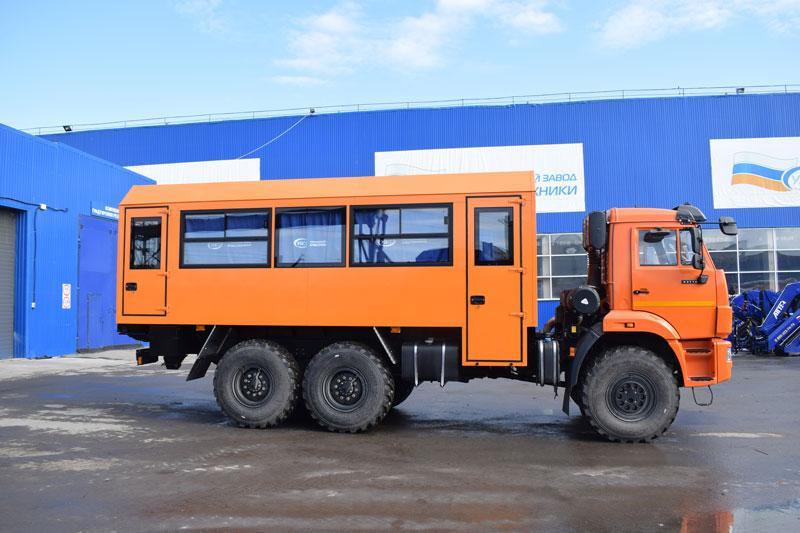 Вахтовый автобус Камаз 43118-3011-50 (001) – 24+2 места
