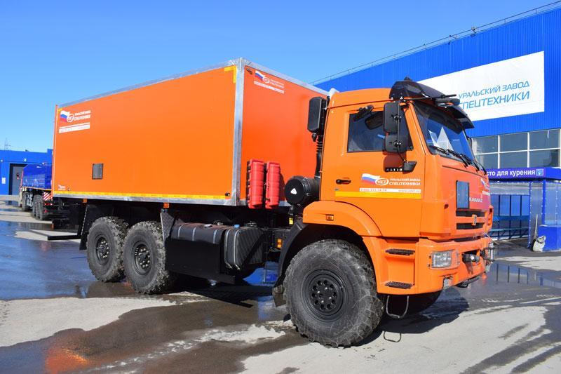 Автомобиль для перевозки взрывчатых веществ Камаз 43118-3027-50 (С-003)