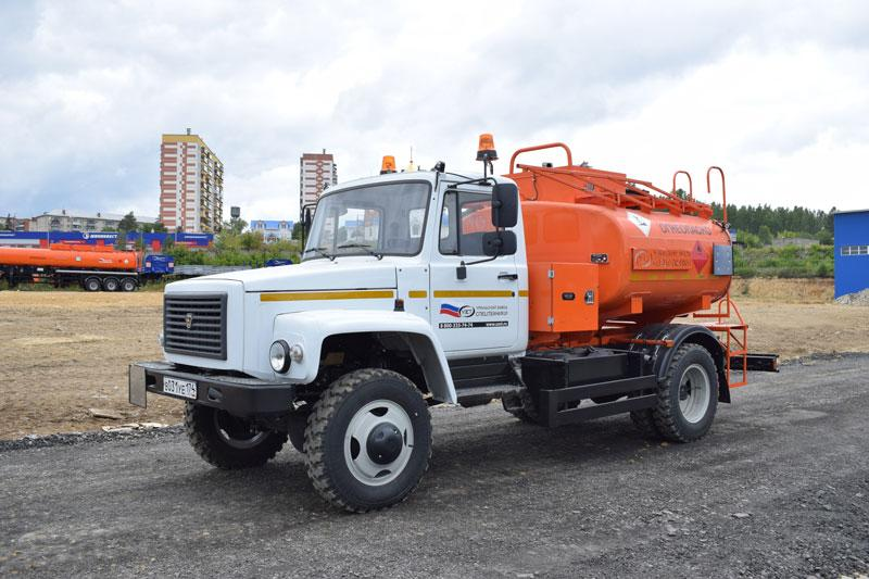 АТЗ-4,9 ГАЗ 33086 (003, 1 секция, СВН-80)