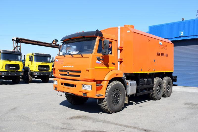 ППУА 1600/100 Камаз 43118-3011-50 (насос Kopper Pump PL-60)