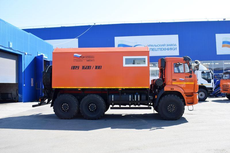 ППУА 1600/100 Камаз 43118-3027-50 (насос Kopper Pump PL-60)