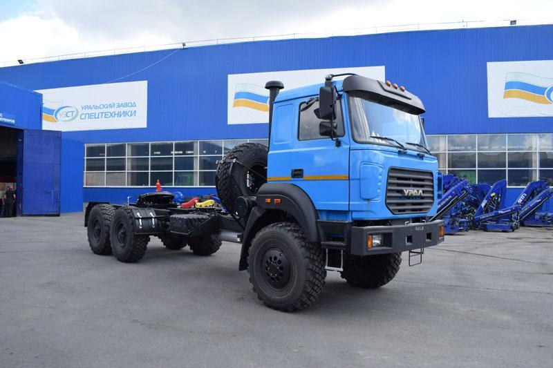 Седельный тягач УЗСТ Урал 4320-4952-80Е5 (009)