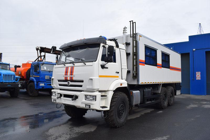 Грузопассажирский аварийно-спасательный автомобиль Камаз 43118-3027-50 (003)