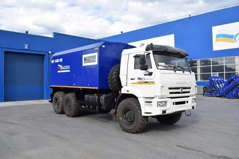 ППУА 1600/100 Камаз 43118-3027-50 (насос Kopper Pump PL-60, сп.м.)