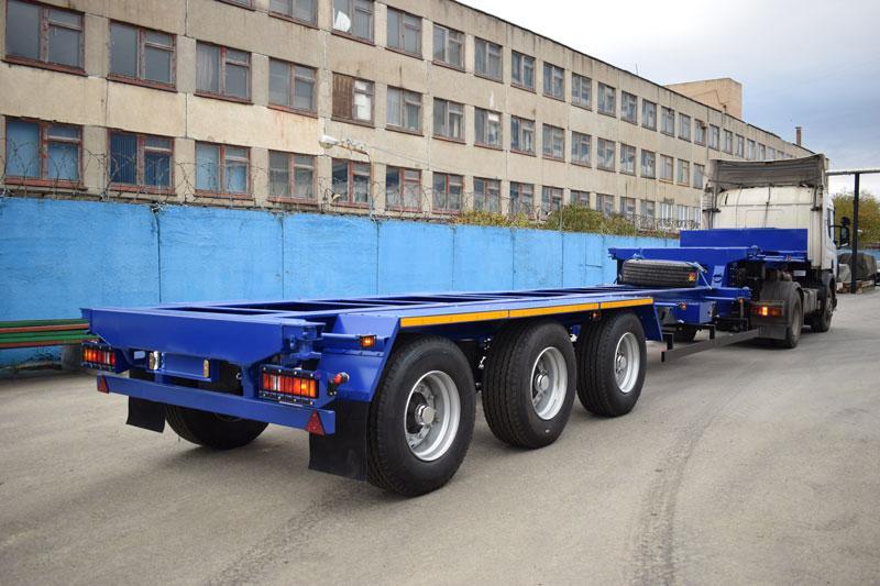 Полуприцеп-контейнеровоз марки УЗСТ 9177-043В3 (36 т.)