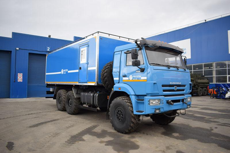 Транспортно-бытовая машина Камаз 43118-3017-50 (С005)