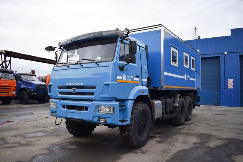 Транспортно-бытовая машина Камаз 43118-3017-50 (С004)