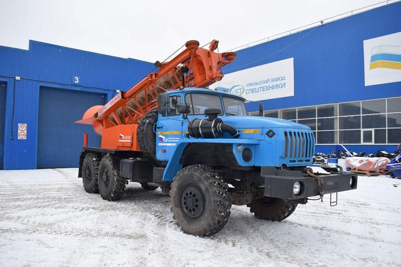 Бурильная машина МРК-750А4 Урал 4320-1112-73Е5