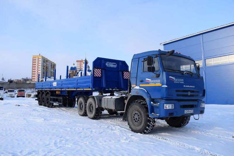 Бортовой полуприцеп марки УЗСТ ППБ-9178-011-20Б3 (36 т.)