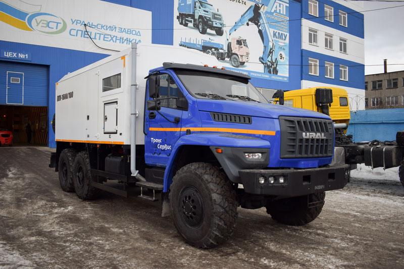 ППУА 1600/100 Урал-NEXT 4320-6952-72Е5Г38 (насос Kopper Pump PL-60)