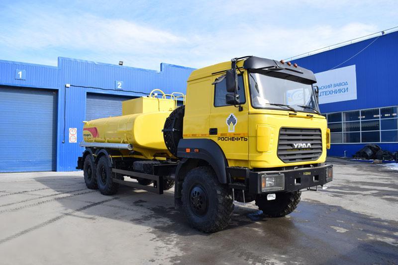 АЦВ-10 Урал 4320-4972-80Е5 (003)