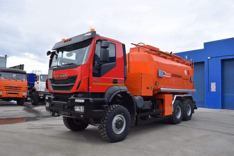 АТЗ-18 Iveco Trakker AT380T (003, 2 секции, СВН-80)