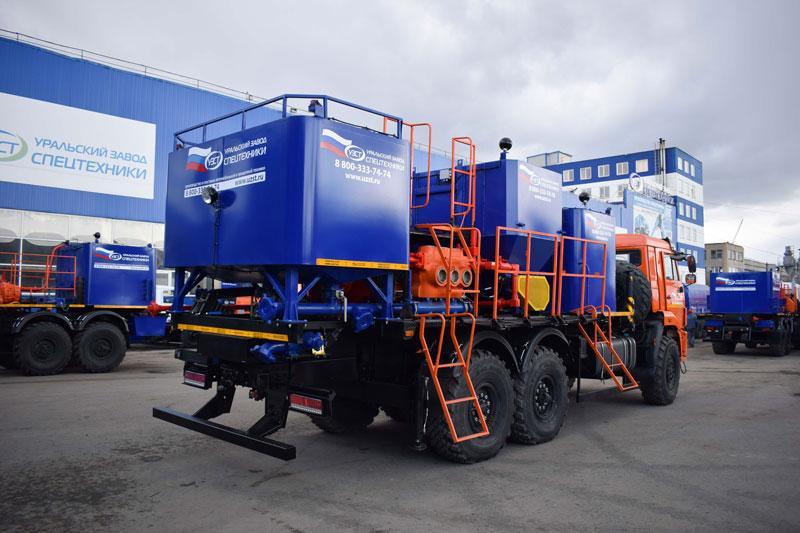 Цементировочно-смесительный агрегат на шасси Камаз 43118-3027-50 (011-20)