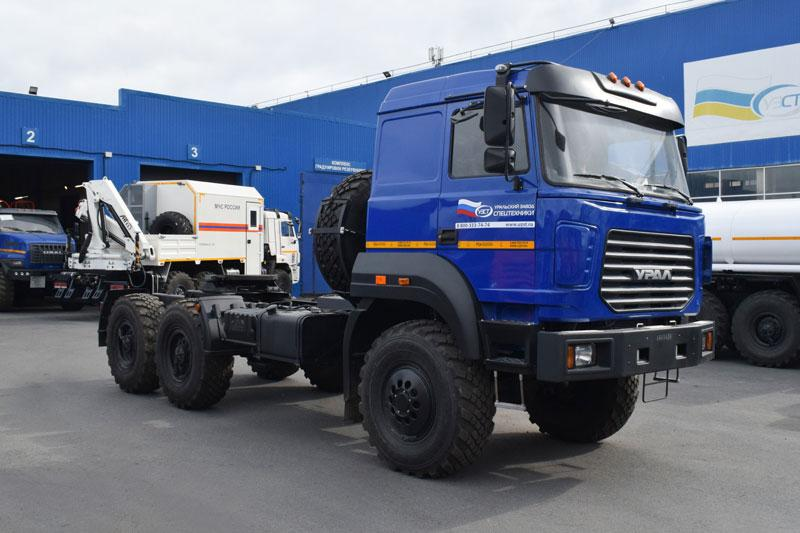 Седельный тягач Урал 44202-3511-82Е5 (ЛВЖ, ДОПОГ)