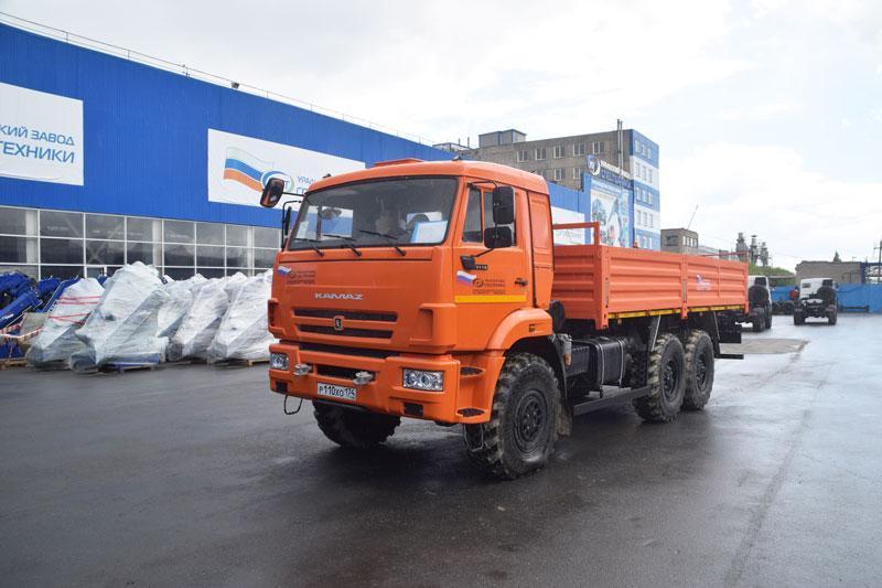 Бортовой Камаз 43118-3011-50 (сп.м.)