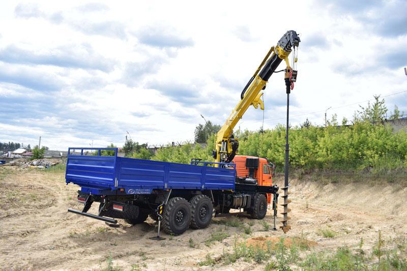 Крано-буровая тросовая установка АНТ 20-5ТЛ