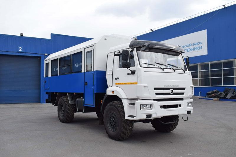 Вахтовый автобус Камаз 43502-3038-66(D5) (005-30) – 22+2 места