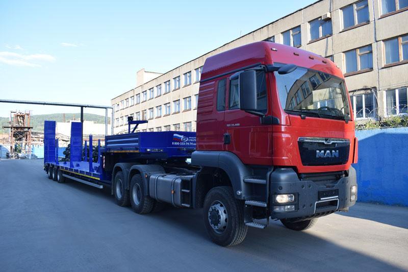 Полуприцеп-контейнеровоз марки УЗСТ 9177-016Н3 (35 т.)