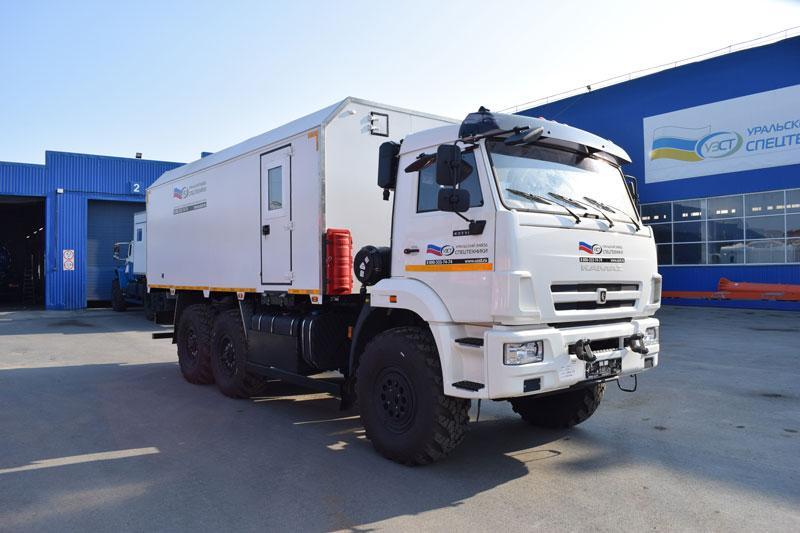 Автомобиль для перевозки взрывчатых веществ Камаз 43118-3027-50 (009)