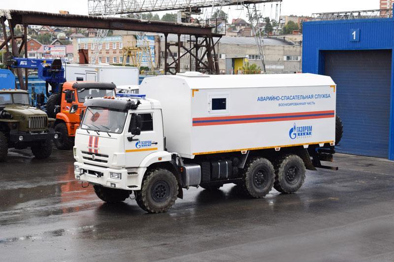 Грузопассажирский аварийно-спасательный автомобиль Камаз 43118-3027-50 (011)