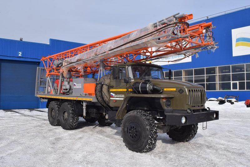 Буровая установка БА-15В Урал 4320-1912-60Е5