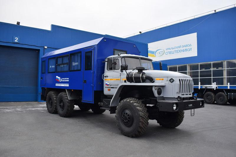 Вахтовый автобус Урал 4320-1934-72Е5И03 – 20 мест