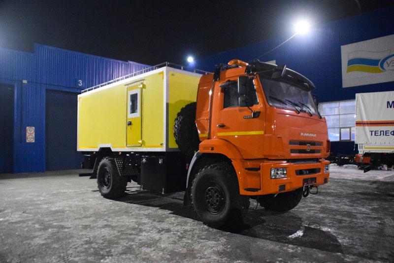 Аварийно-спасательный автомобиль Камаз 43502-3038-66(D5) (С002)